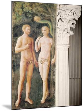 The Temptation of Adam and Eve, C.1423-25-Tommaso Masolino Da Panicale-Mounted Giclee Print