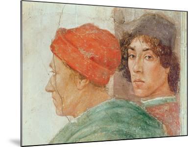 Detail of the Dispute with Simon Mago, C.1484-85 (Detail)-Filippino Lippi-Mounted Giclee Print