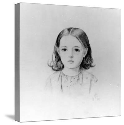 Fanny Lynn, 1852-John Everett Millais-Stretched Canvas Print