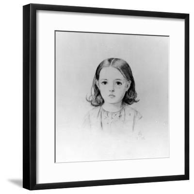 Fanny Lynn, 1852-John Everett Millais-Framed Giclee Print