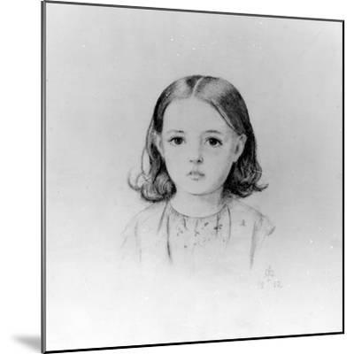 Fanny Lynn, 1852-John Everett Millais-Mounted Giclee Print