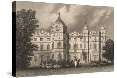 Tong Castle-English School-Stretched Canvas Print