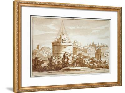 Castello St Angelo, 1688-Jacob van der Ulft-Framed Giclee Print