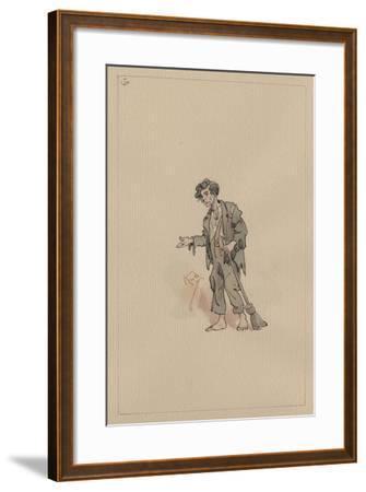 Jo, C.1920s-Joseph Clayton Clarke-Framed Giclee Print