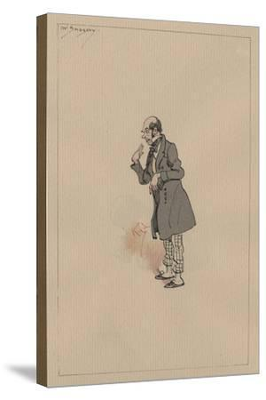 Mr Snagsby, C.1920s-Joseph Clayton Clarke-Stretched Canvas Print