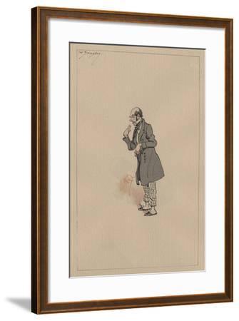 Mr Snagsby, C.1920s-Joseph Clayton Clarke-Framed Giclee Print