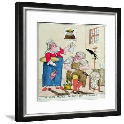 Patience Margot, it Will Soon Be 3 Times as Much, 1789--Framed Giclee Print