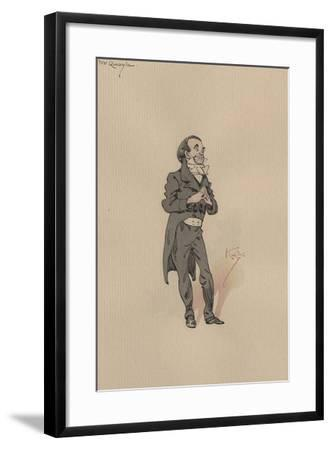 Mr Quayle, C.1920s-Joseph Clayton Clarke-Framed Giclee Print