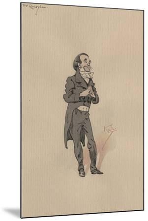 Mr Quayle, C.1920s-Joseph Clayton Clarke-Mounted Giclee Print