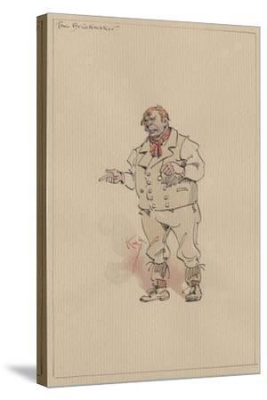 The Brickmaker, C.1920s-Joseph Clayton Clarke-Stretched Canvas Print