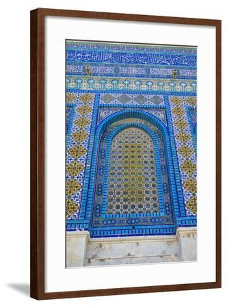 The Dome of the Rock, East Jerusalem--Framed Photographic Print