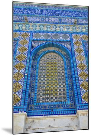 The Dome of the Rock, East Jerusalem--Mounted Photographic Print