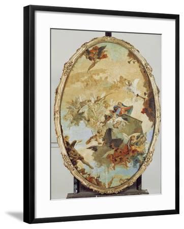 Translation of the Holy House from Nazareth to Loreto-Giovanni Battista Tiepolo-Framed Giclee Print