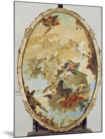 Translation of the Holy House from Nazareth to Loreto-Giovanni Battista Tiepolo-Mounted Giclee Print