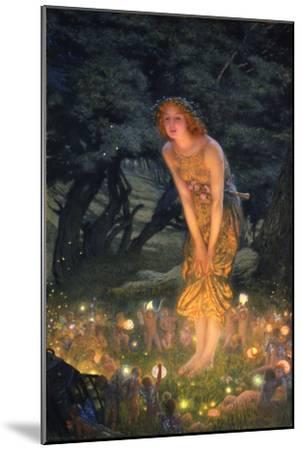 Midsummer Eve-Edward Robert Hughes-Mounted Premium Giclee Print