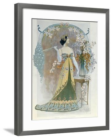 Essay on a Modern Style, C.1899-Louis Chalon-Framed Giclee Print