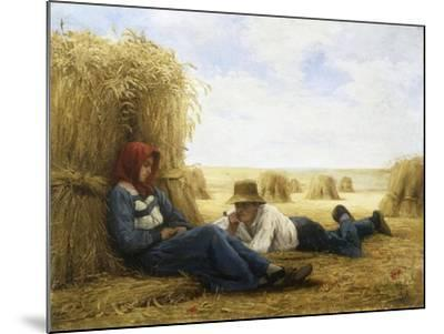 Harvest Time, 1878-Julien Dupre-Mounted Giclee Print