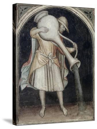 Aquarius - Astrology--Stretched Canvas Print