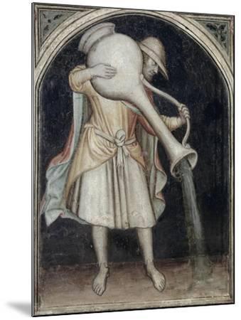 Aquarius - Astrology--Mounted Giclee Print