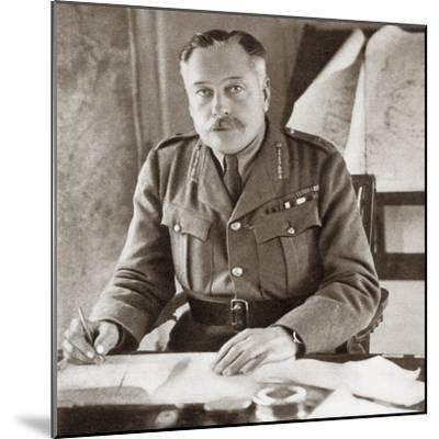Field Marshal Douglas Haig, 1st Earl Haig, 1861 – 1928. . from the Story of--Mounted Giclee Print