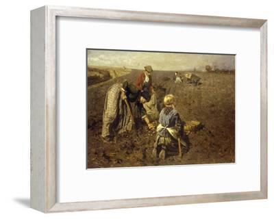 The Potato Harvest-Herman Hartwich-Framed Giclee Print