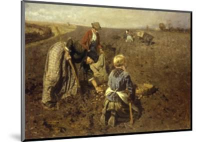 The Potato Harvest-Herman Hartwich-Mounted Giclee Print