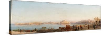 Valletta from Near Manoel Island-Giancinto Gianni-Stretched Canvas Print