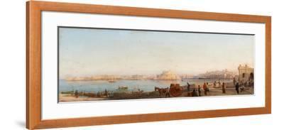 Valletta from Near Manoel Island-Giancinto Gianni-Framed Giclee Print