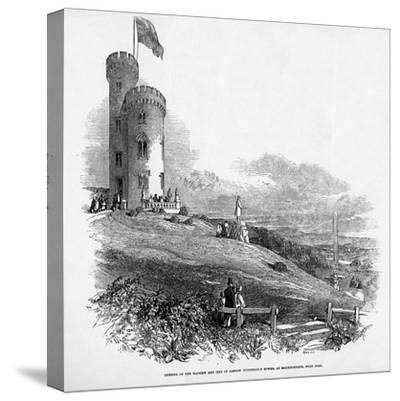 Opening of the Mathew and City of London Temperance Tower, at Mount Patrick, Near Cork, 1846--Stretched Canvas Print