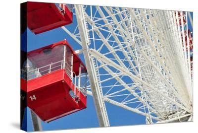 The Ferris Wheel at Navy Pier--Stretched Canvas Print