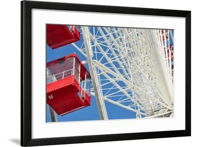 The Ferris Wheel at Navy Pier--Framed Photographic Print