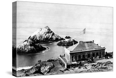 The Cliff House, San Francisco, C.1863-8--Stretched Canvas Print