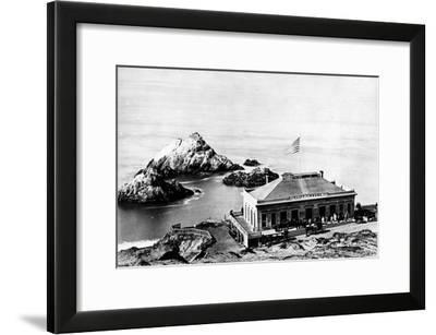The Cliff House, San Francisco, C.1863-8--Framed Photographic Print