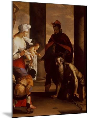 The Pardon of St. John Chrysostom, C.1640-Mattia Preti-Mounted Giclee Print