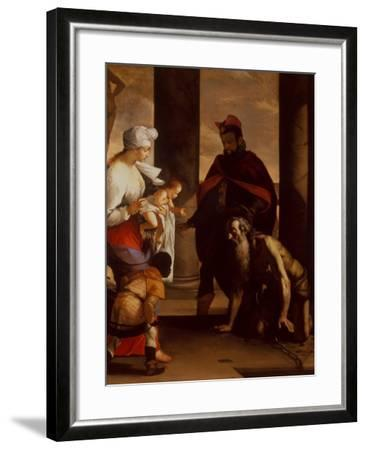 The Pardon of St. John Chrysostom, C.1640-Mattia Preti-Framed Giclee Print