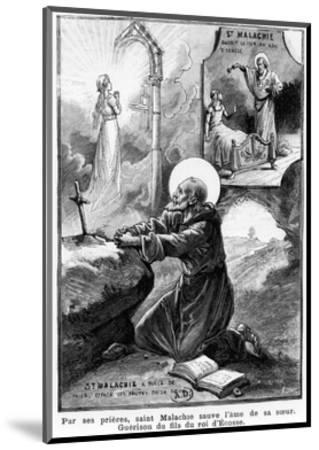 St Malachy Praying for the Soul of His Sister--Mounted Giclee Print