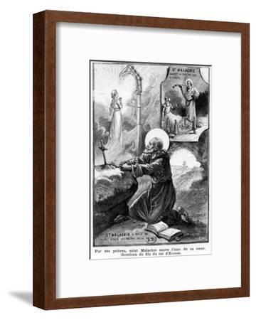 St Malachy Praying for the Soul of His Sister--Framed Giclee Print