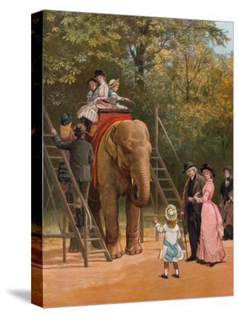 A Summer Holiday-Heywood Hardy-Stretched Canvas Print
