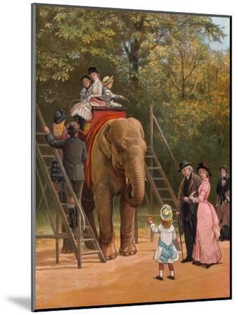 A Summer Holiday-Heywood Hardy-Mounted Giclee Print