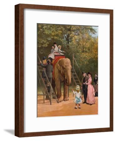 A Summer Holiday-Heywood Hardy-Framed Giclee Print