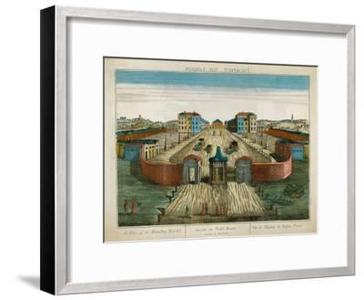 A View of the Foundling Hospital--Framed Giclee Print
