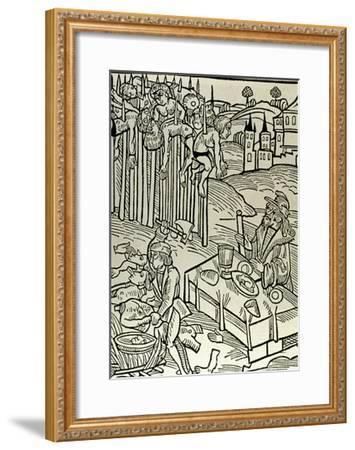 Vlad II Dracul (1393-1447), the Impaler--Framed Giclee Print