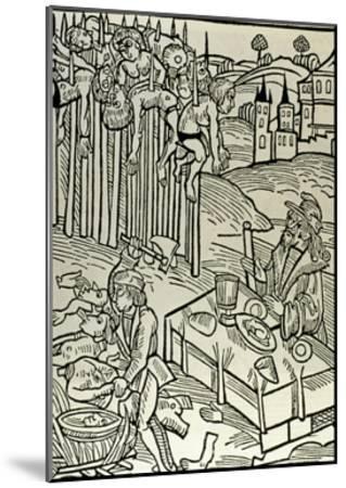 Vlad II Dracul (1393-1447), the Impaler--Mounted Giclee Print