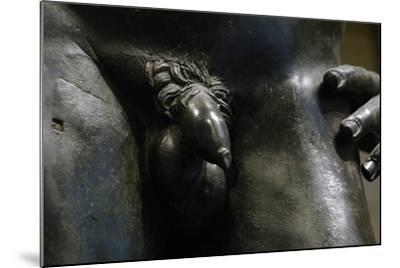 Greek Art. Hellenistic. Bronze Male Statue. 2nd or 1st Century B.C.. Metropolitan Museum of Art.…--Mounted Giclee Print