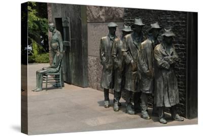 Franklin D. Roosevelt Memorial. United States--Stretched Canvas Print