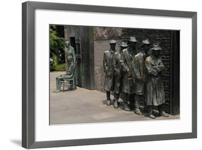 Franklin D. Roosevelt Memorial. United States--Framed Giclee Print