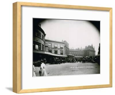 London Bridge Station--Framed Photographic Print