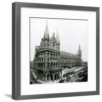 St Pancras Railway Station; Photograph from April 1899--Framed Photographic Print