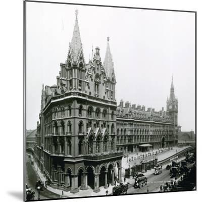 St Pancras Railway Station; Photograph from April 1899--Mounted Photographic Print