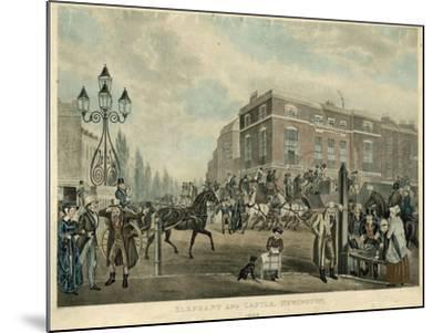 Elephant and Castle, Newington, London, 1826-Samuel John Egbert Jones-Mounted Giclee Print